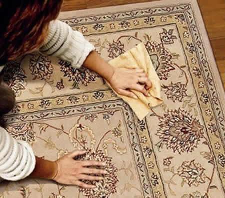 Мытьё ковра в домашних условиях