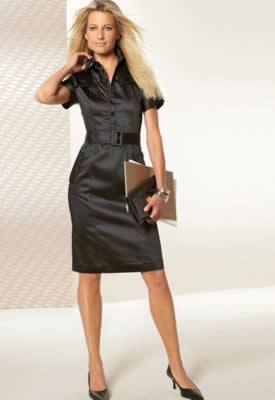 Женские платья для работы в офисе