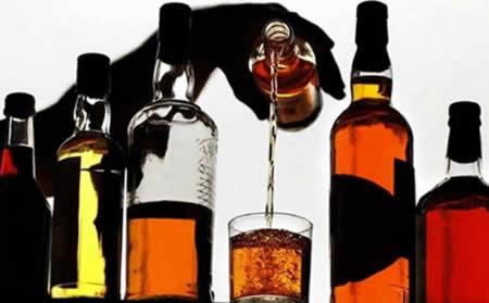 Вред алкогольных напитков