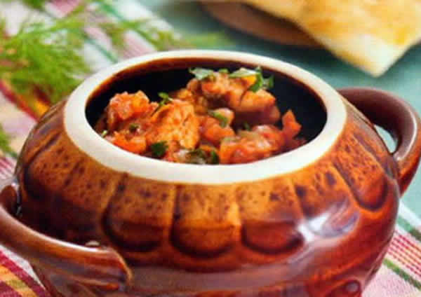 Рецепт блюд в горшочках свинина с овощами