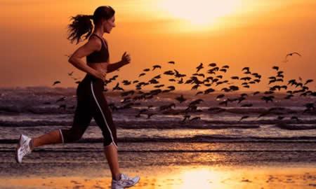 бег по вечерам для похудения таблица