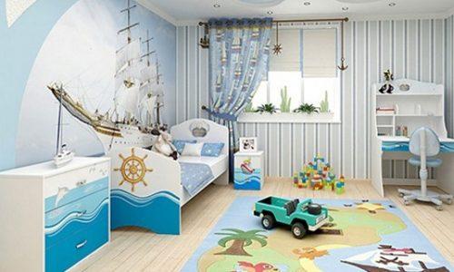 Ребенок в личной комнате
